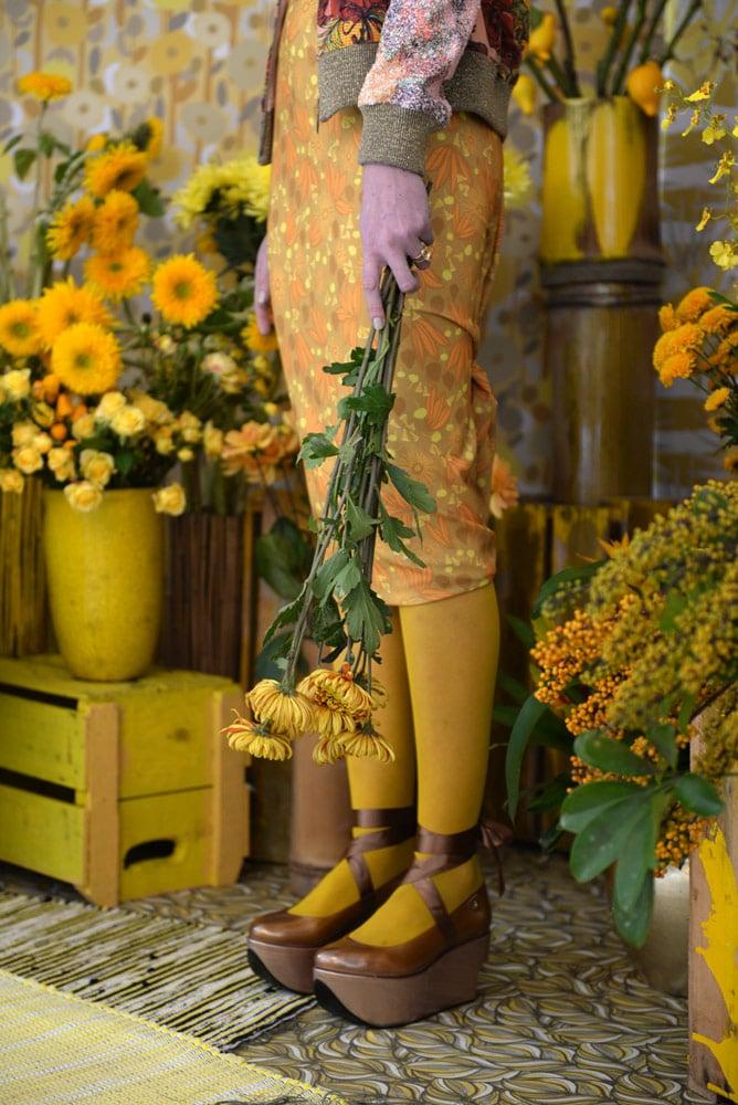 Aplicação Estampas Coleção Botanic Bloom Gold Promex Decor