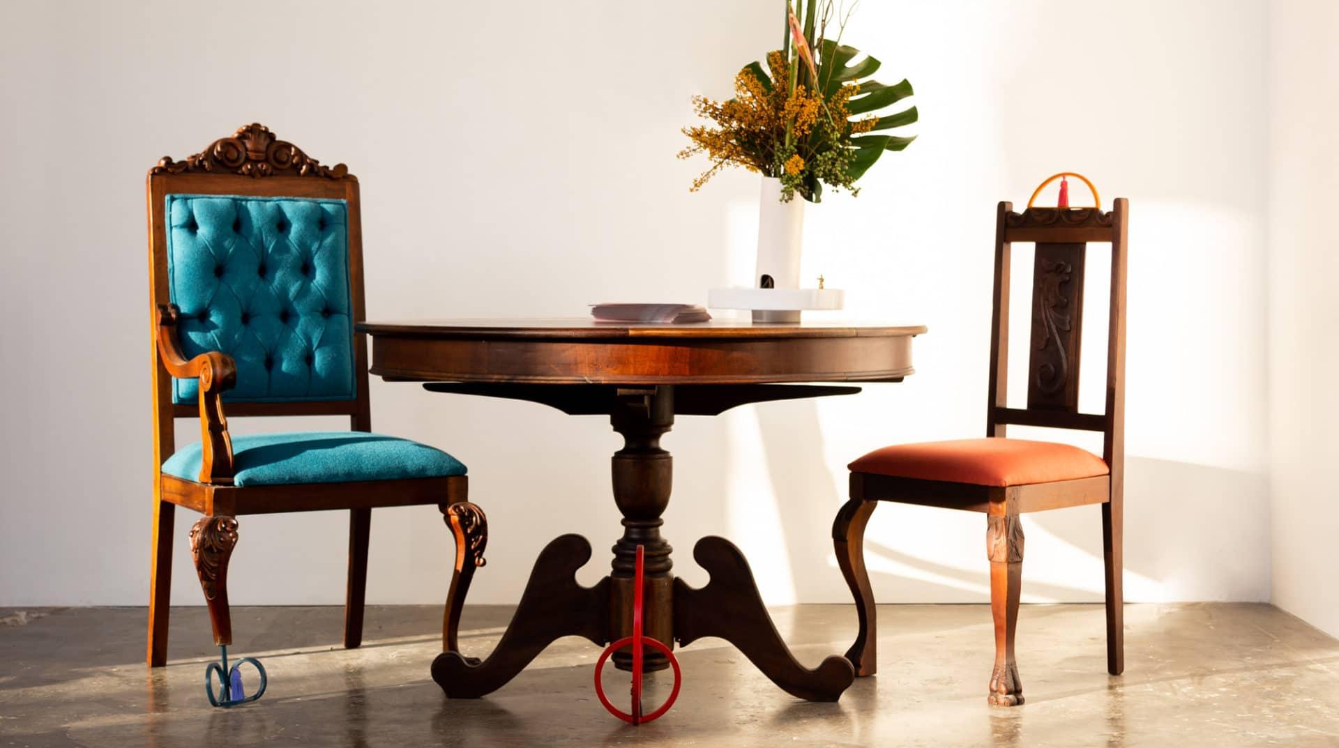 Projeto Restauro por Cadu Silva para feira MADE - Promex Decor