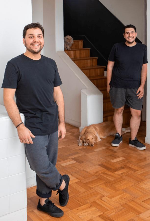 Designers e arquitetos, Luiz Costa e Rodrigo Irffi.