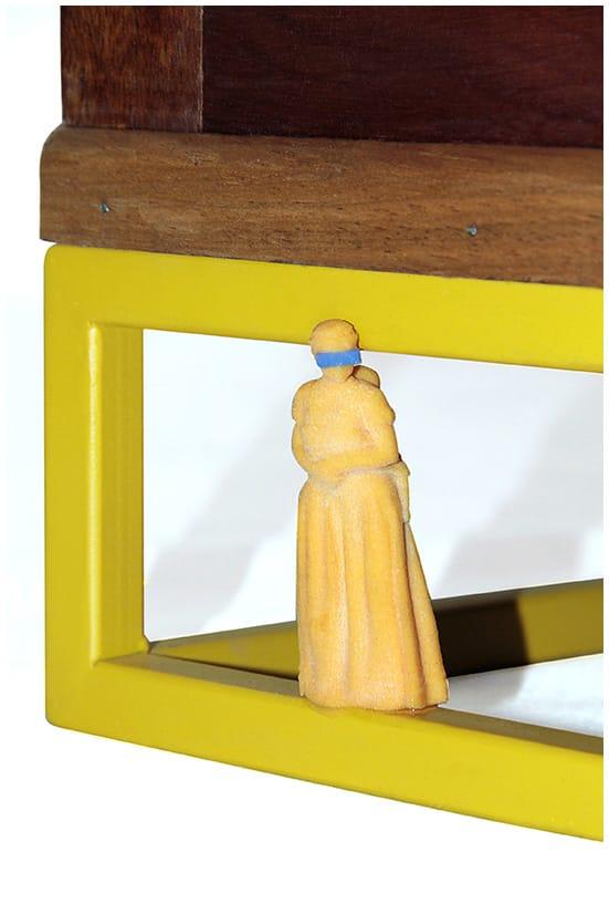 Projeto Restauro, peça feita em 3D em parceria com a Nova Silk
