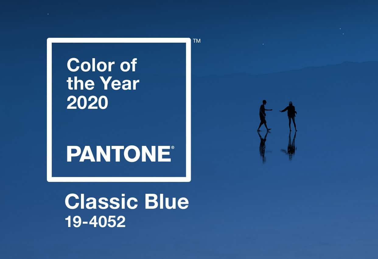 Cor Pantone Classic blue (Foto: Reprodução)